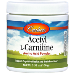 Carlson Labs Acetyl L Carnitine Powder 100 gms ACE25