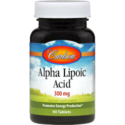 Carlson Labs Alpha Lipoic Acid 300 mg 90 tablets ALP25