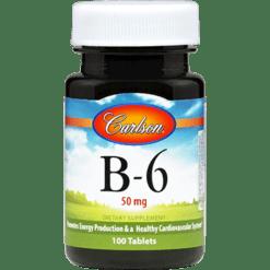 Carlson Labs B 6 50 mg 100 tabs VI224