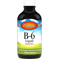 Carlson Labs B 6 Liquid 4 oz VIB6L