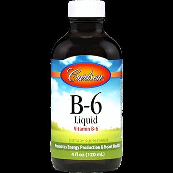 Carlson Labs B 6 Liquid 4 oz VIB6L