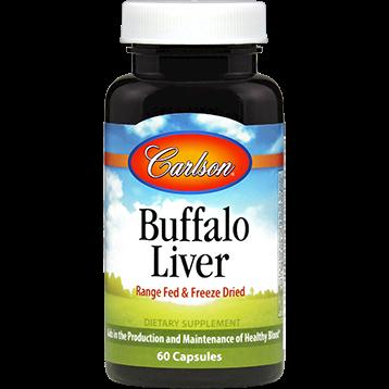 Carlson Labs Buffalo Liver 60 caps BUFFA
