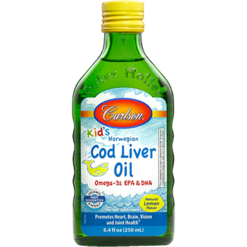 Carlson Labs Carlson® Kids Cod Liver Oil Lemon 250 ml COD13