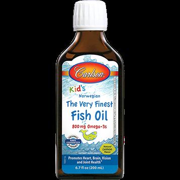 Carlson Labs Carlson® for Kids Fish Oil Lemon 200 ml KFOL2