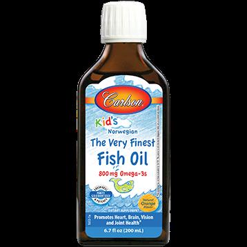 Carlson Labs Carlson®Kids Finest Fish Oil Orange200ml FISH9