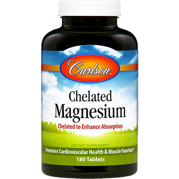 Carlson Labs Chelated Magnesium 180 tabs MAG87