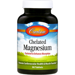 Carlson Labs Chelated Magnesium 200 mg 90 tabs MAG64