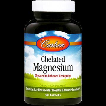 Carlson Labs Chelated Magnesium 200 mg 90 tabs MAG64