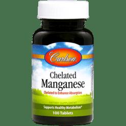 Carlson Labs Chelated Manganese 20 mg 100 tablets MANG6