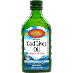 Carlson Labs Cod Liver Oil Regular Flavor 250 ml COD20