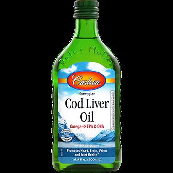 Carlson Labs Cod Liver Oil Regular Flavor 500 ml CODL7