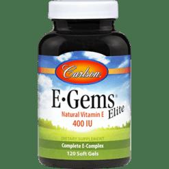 Carlson Labs E•Gems® Elite 400 IU 120 gels EGEM2