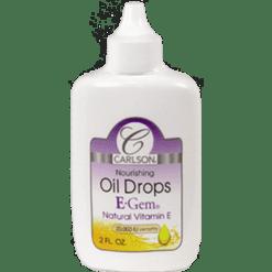 Carlson Labs E Gem Oil Drops 2 oz EGE10