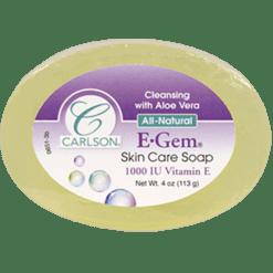 Carlson Labs E Gem Skin Care Soap 1 bar CA0651