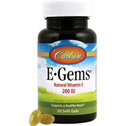 Carlson Labs E Gems® 200 IU 90 gels EGEM9