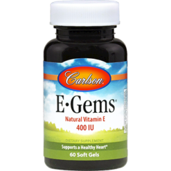 Carlson Labs E Gems® 400 IU 60 gels EGEMS