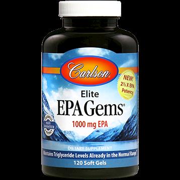 Carlson Labs Elite EPA Gems 120 softgels EPA25