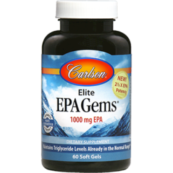Carlson Labs Elite EPA Gems 60 softgels C16868