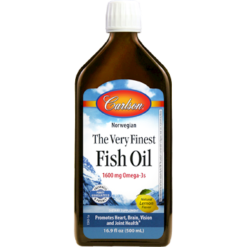 Carlson Labs Finest Fish Oil Omega 3 500 ml FINE2