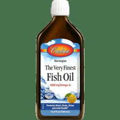 Carlson Labs Fish Oil Orange 500 ml FISH4