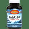 Carlson Labs Fish Oil Q 60 softgels C16738
