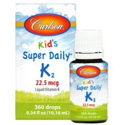 Carlson Labs Kid039s Super Daily K2 10.16 ml C13001