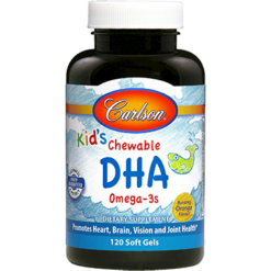 Carlson Labs Kids Chewable DHA Omega 3s 120 softgels C18507