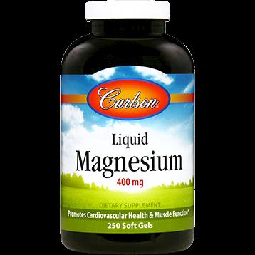 Carlson Labs Liquid Magnesium 400 mg 250 gels MAG86