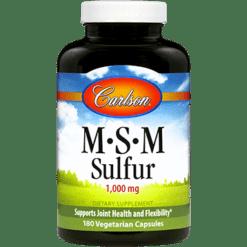 Carlson Labs MSM Sulfur 180 caps MSM18