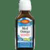 Carlson Labs MedOmega Fish Oil 2700 3.3 fl oz MEDOM