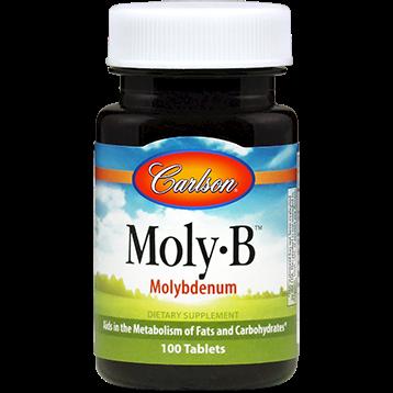 Carlson Labs Moly B 500 mcg 100 tabs MOLY7