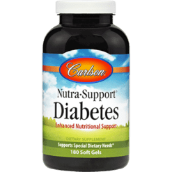 Carlson Labs NutrabullSupportreg Diabetes 180 gels NSD18
