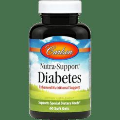 Carlson Labs NutrabullSupportreg Diabetes 60 gels NSD6