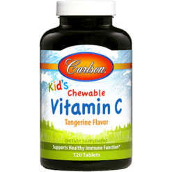 Carlson Labs Scooter Rabbit Vitamin C 250 mg 120 chew VIT86
