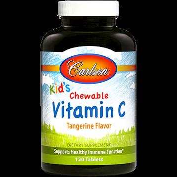 Carlson Labs Scooter Rabbit Vitamin C 250 mg 120 chew VIT86