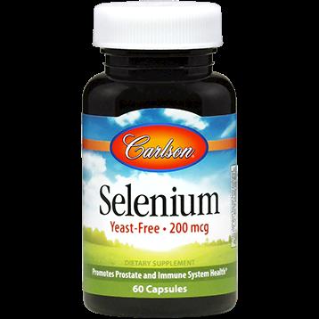 Carlson Labs Selenium 200 mcg 60 caps SEL36