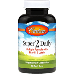 Carlson Labs Super 2 Daily 60 softgels SUP50