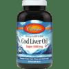 Carlson Labs Super Cod Liver Oil 1000 mg 250 gels CODL8