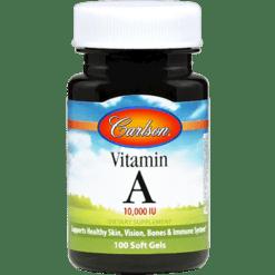 Carlson Labs Vitamin A Natural 10000 IU 100 gels VIT91