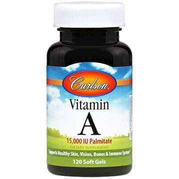 Carlson Labs Vitamin A Palmitate 15000 IU 120 gels VIT98