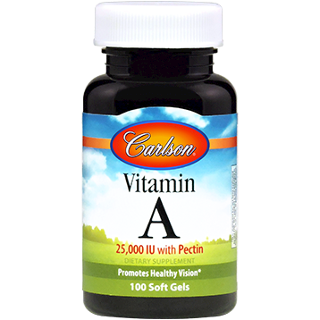 Carlson Labs Vitamin A with Pectin 100 caps VI219