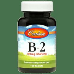 Carlson Labs Vitamin B 2 100 tabs VI223