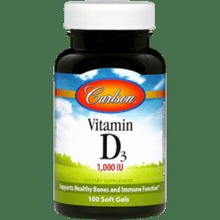 Carlson Labs Vitamin D 1000 IU 100 gels VIT93