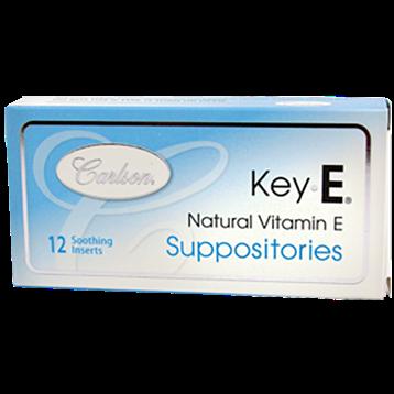 Carlson Labs Vitamin E Suppositories 12 supp VIT57