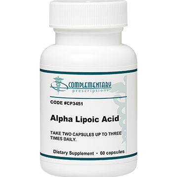 Complementary Prescriptions Alpha Lipoic Acid 500 mg 90 vcaps P3455