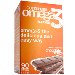 Coromega Chocolate Orange 90 packets C45206