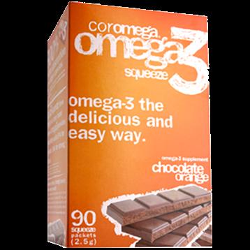 Coromega Chocolate Orange 90 packets C45206