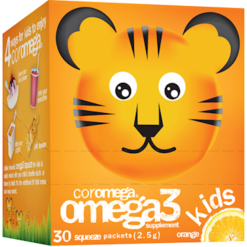 Coromega Kids Orange 30 packets C45242