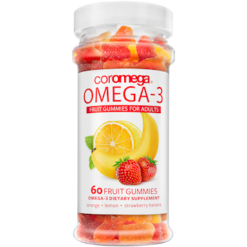 Coromega Omega3 for Adults 60 gummies C46002
