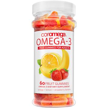 Coromega Omega3 for Adults 60 gummies C46002